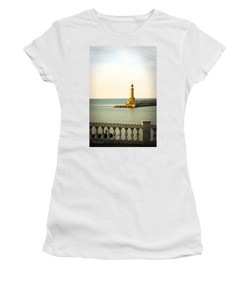 Lighthouse - Alexandria Egypt Women's T-Shirt (Junior Cut) by Mary Machare