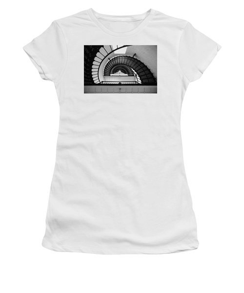Lighthouse Spiral Women's T-Shirt (Athletic Fit)