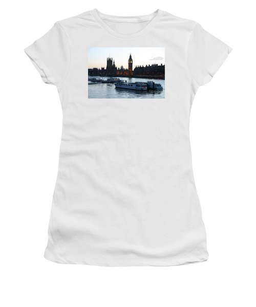 Lighting Up Time On The Thames Women's T-Shirt