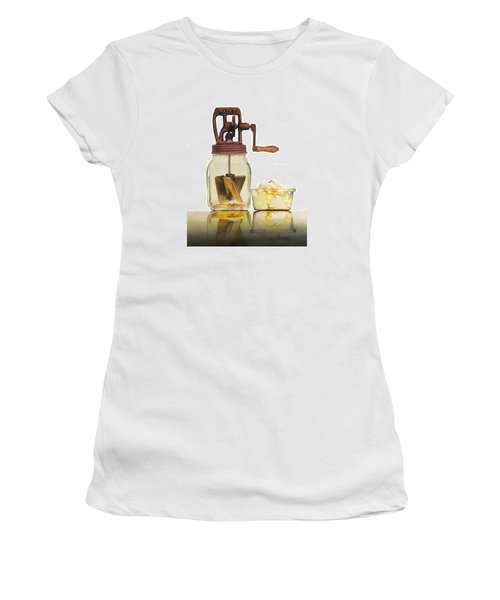 Like Buttah Women's T-Shirt (Junior Cut) by Ferrel Cordle