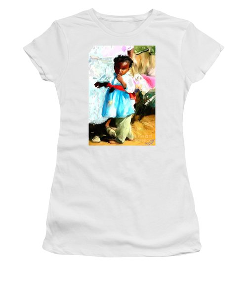 Lil Girl  Women's T-Shirt (Athletic Fit)