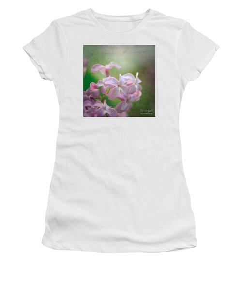 Lilac Dreaming  Women's T-Shirt (Junior Cut) by Kerri Farley