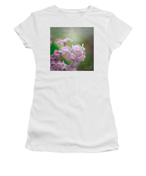Lilac Dreaming  Women's T-Shirt (Athletic Fit)