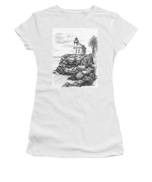 Lime Kiln Lighthouse Women's T-Shirt