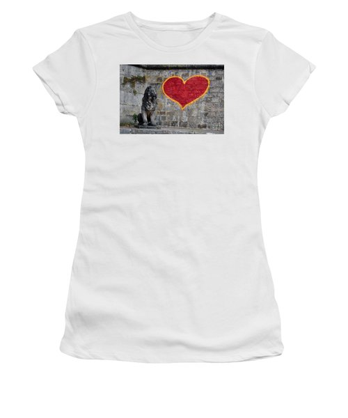 Lionheart Women's T-Shirt (Athletic Fit)
