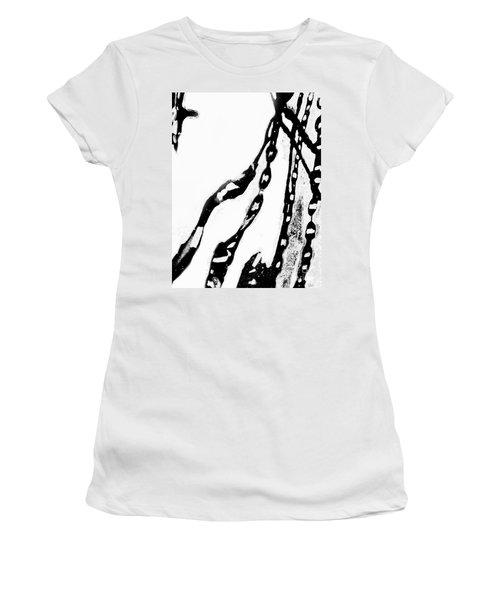 Liquid  Chains  Women's T-Shirt (Athletic Fit)