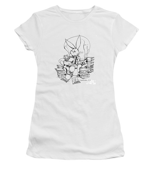Literary Playboy Women's T-Shirt (Athletic Fit)