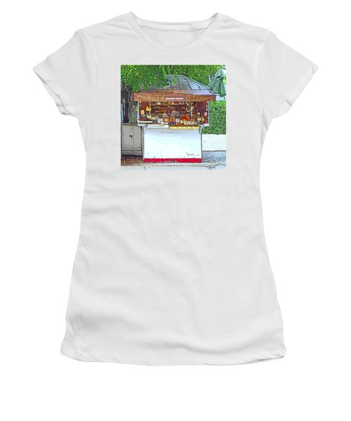 Little Cigar Shop Key West Women's T-Shirt (Athletic Fit)