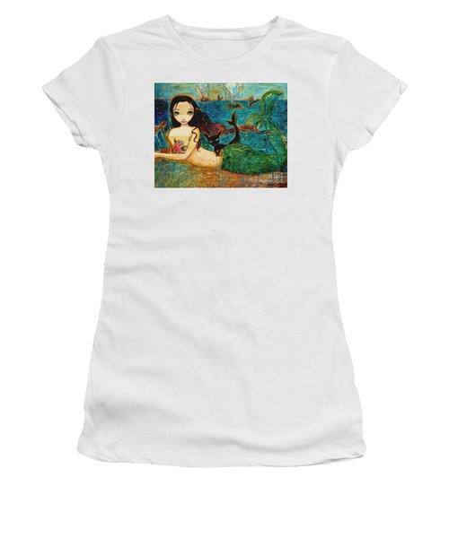 Little Mermaid Women's T-Shirt (Athletic Fit)