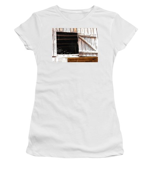 Women's T-Shirt (Junior Cut) featuring the photograph Lofty Hieghts by Nick Kirby