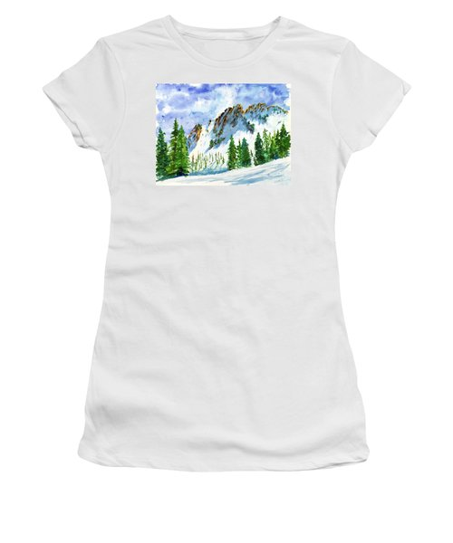 Lone Tree In The Afternoon Women's T-Shirt (Athletic Fit)