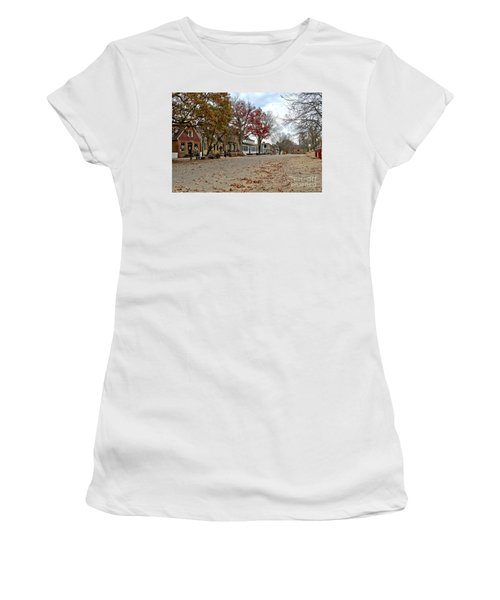 Lonely Colonial Williamsburg Women's T-Shirt (Athletic Fit)