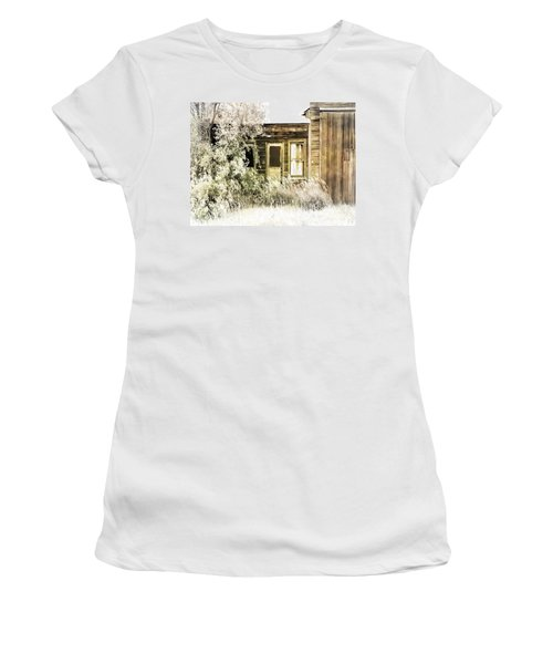 Washed Out Women's T-Shirt (Athletic Fit)