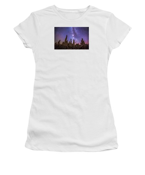 Lost Planet Women's T-Shirt (Junior Cut) by Tassanee Angiolillo