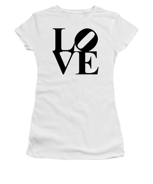 Love 20130707 Black White Women's T-Shirt