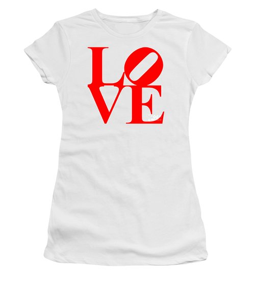 Love 20130707 Red White Women's T-Shirt