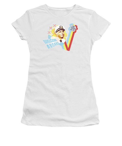 Love Boat - Welcome Aboard Women's T-Shirt (Athletic Fit)