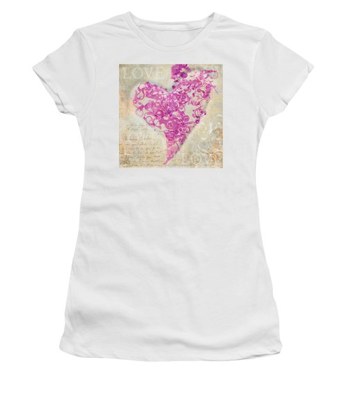 Love Is A Gift Women's T-Shirt (Athletic Fit)