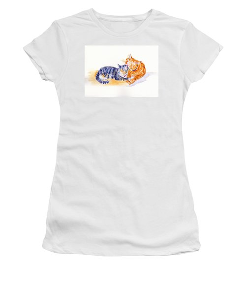 Love Is A Touch Women's T-Shirt (Athletic Fit)