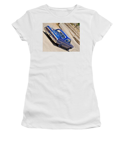 Lowrider_19d Women's T-Shirt (Athletic Fit)