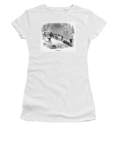 Lumbering - 1878 Women's T-Shirt