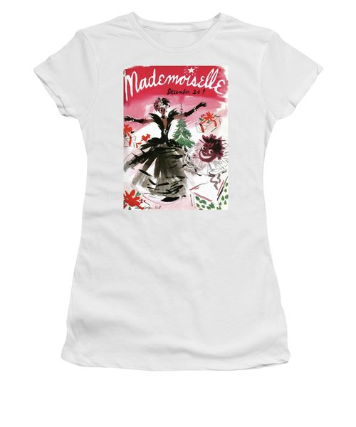 Mademoiselle Cover Featuring A Doll Surrounded Women's T-Shirt