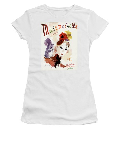 Mademoiselle Cover Featuring A Woman Women's T-Shirt