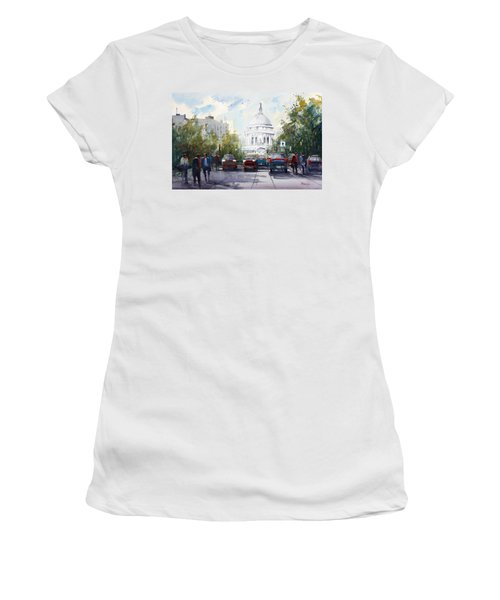 Madison - Capitol Women's T-Shirt (Athletic Fit)
