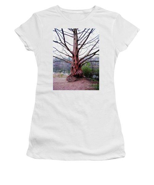 Women's T-Shirt (Junior Cut) featuring the photograph Magic Tree by Nina Silver