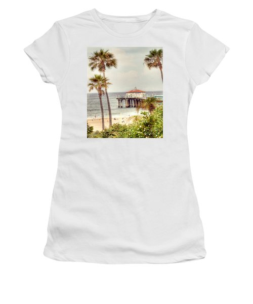 Manhattan Beach Pier Women's T-Shirt
