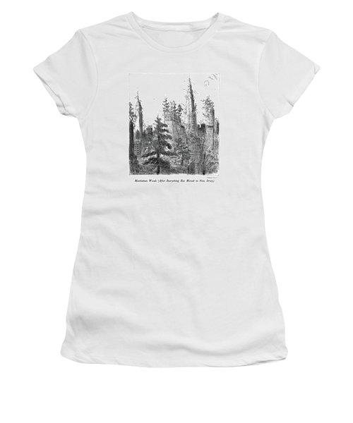 Manhattan Woods Women's T-Shirt