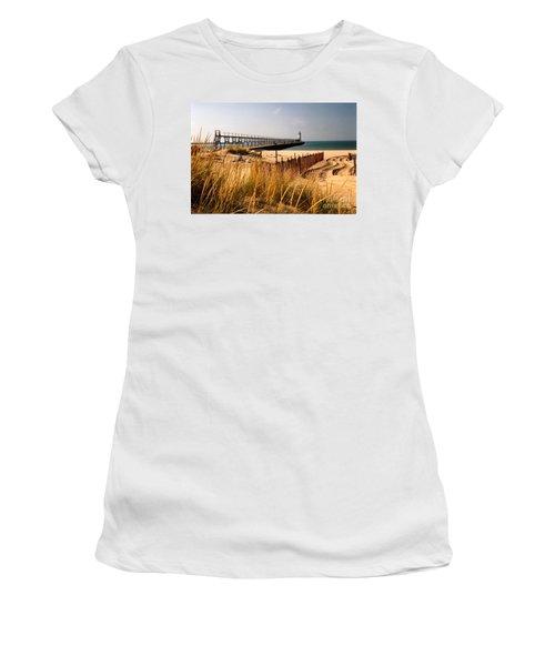 Manistee Lighthouse Women's T-Shirt