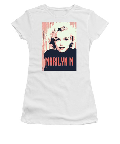 Marilyn M Women's T-Shirt (Athletic Fit)
