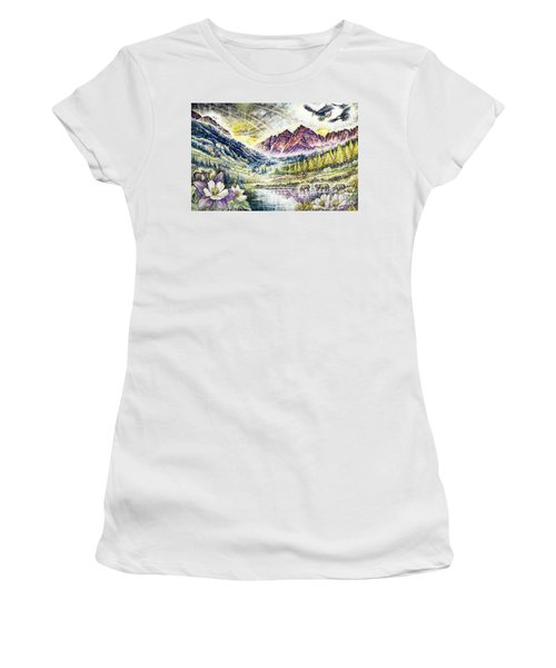 Maroon Bells  Women's T-Shirt
