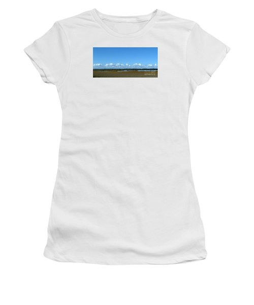 Marsh In Panacea Florida Women's T-Shirt (Athletic Fit)