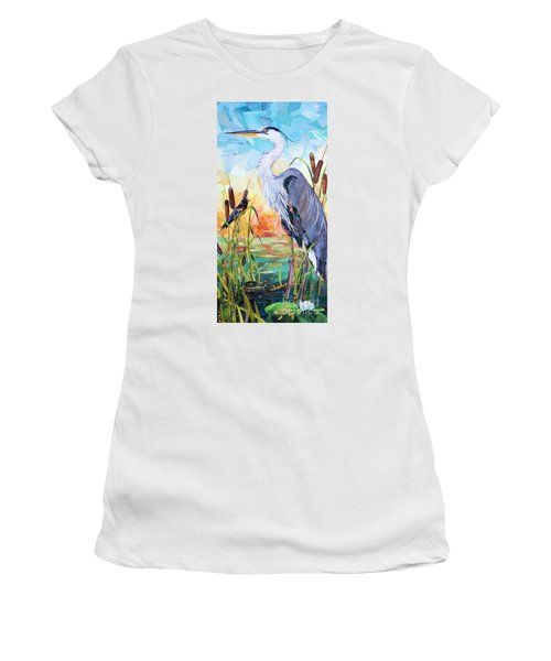 Marshland Moring Women's T-Shirt (Athletic Fit)