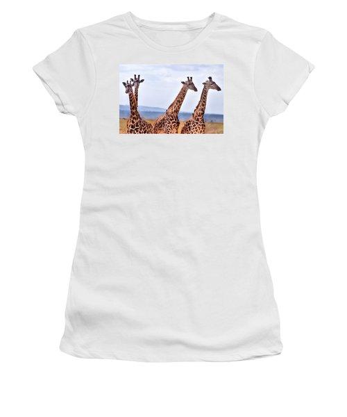 Masai Giraffe Women's T-Shirt