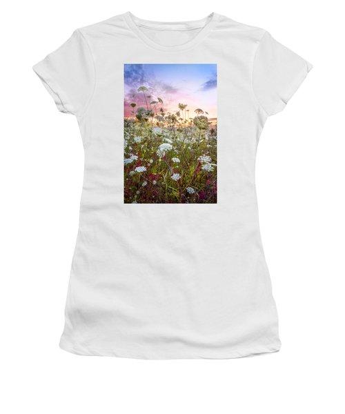 Meadow Of Lace Women's T-Shirt