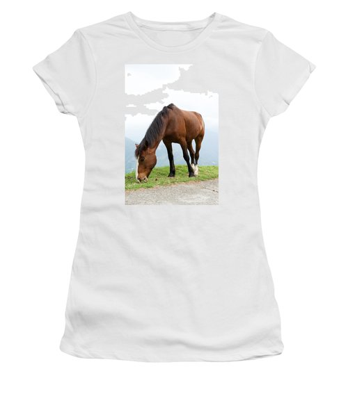 Women's T-Shirt (Junior Cut) featuring the photograph Meal Time by Yew Kwang