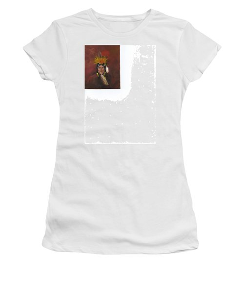 Medicine Man Women's T-Shirt (Junior Cut) by Catherine Swerediuk