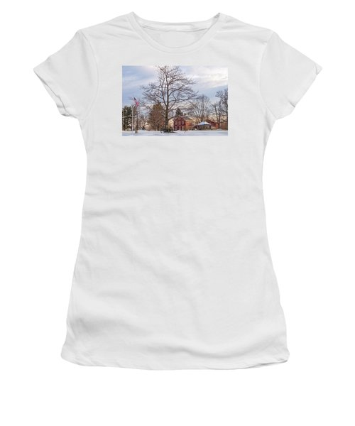 Meetinghouse Hill Women's T-Shirt (Athletic Fit)