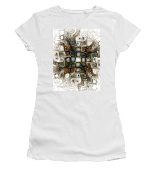 Memory Boxes-fractal Art Women's T-Shirt (Athletic Fit)