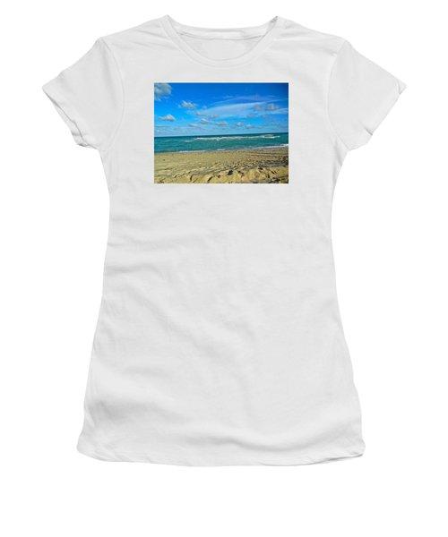 Miami Beach Women's T-Shirt (Athletic Fit)