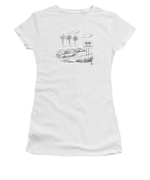 Miami:  Home Of The Miami Relatives Women's T-Shirt