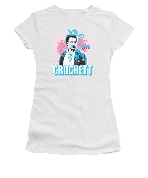 Miami Vice - Crockett Women's T-Shirt