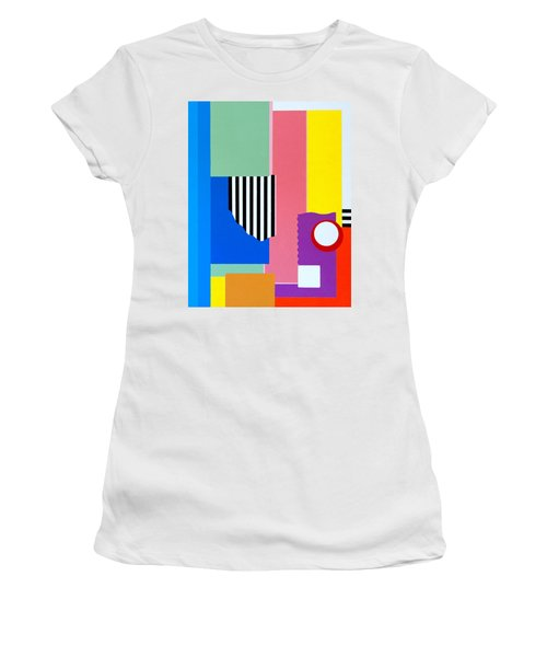 Mid Century Compromise Women's T-Shirt (Junior Cut) by Thomas Gronowski