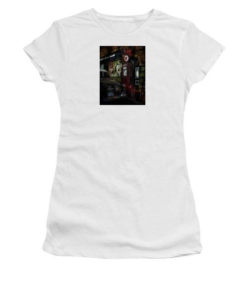 Midnight Fill Up Women's T-Shirt (Junior Cut) by Gary Warnimont