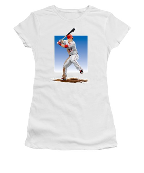 Mike Trout Women's T-Shirt (Athletic Fit)
