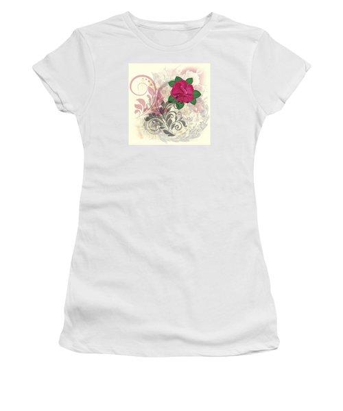 Mini Rose Flourish Women's T-Shirt