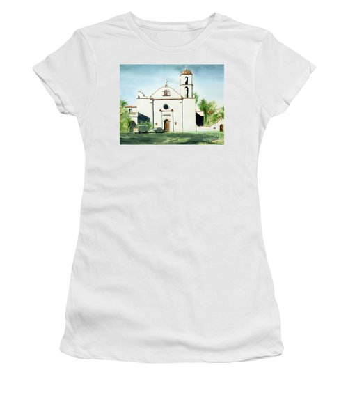 Mission San Luis Rey Colorful II Women's T-Shirt (Athletic Fit)